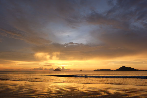 Sunset at the Andaman Sea