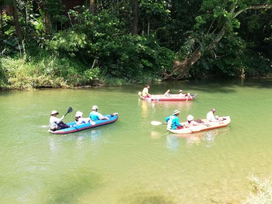 Canoe Tour at the Sok River