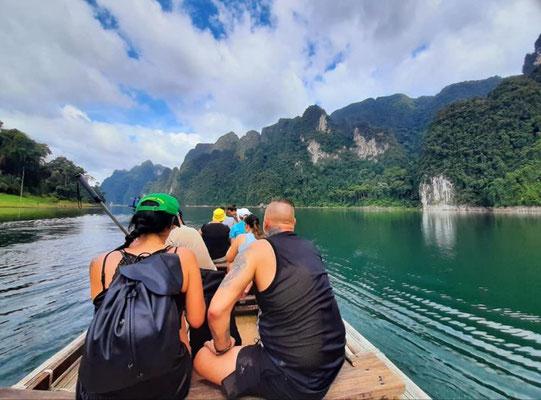 Cheow Lan Reservoir Boat Tour