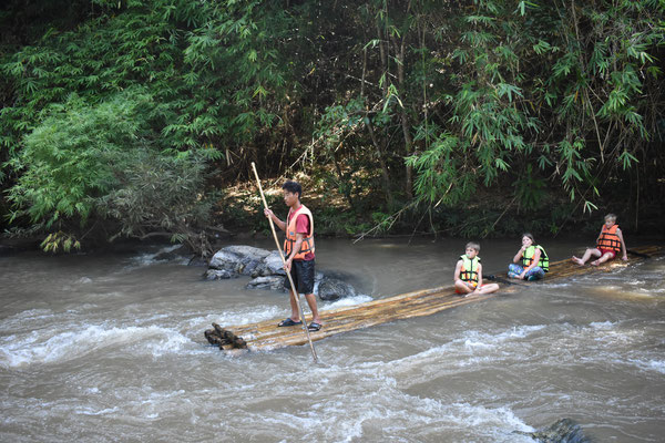 Bamboo Raft Adventure