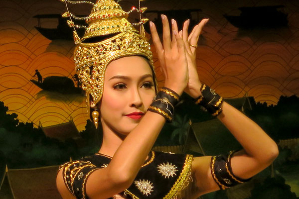 Traditional Thai Dancer. Beauty ( Suay) was always cherished  in the History of Thailand.