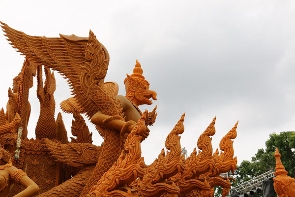 The fantastic * Candle Festival * in Ubon Ratchathani