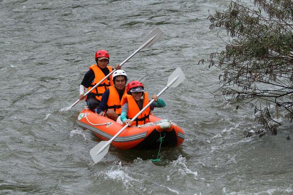Canoeing at Saiyok River