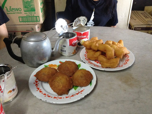 Traditional Thai-Chinese Breakfast