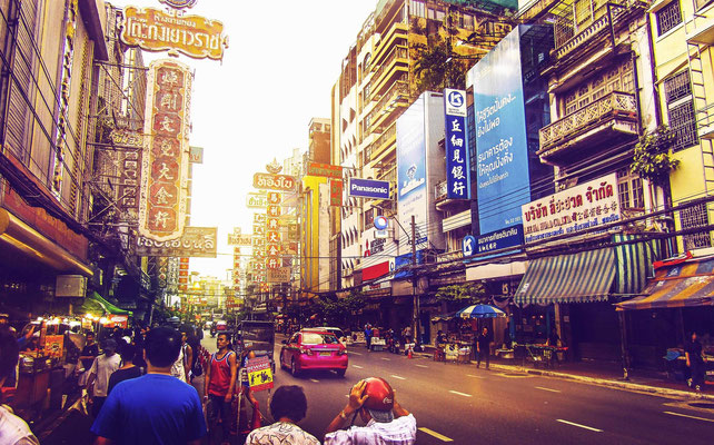 China Town or Yaowarat  is a must see on any Bangkok City Tour