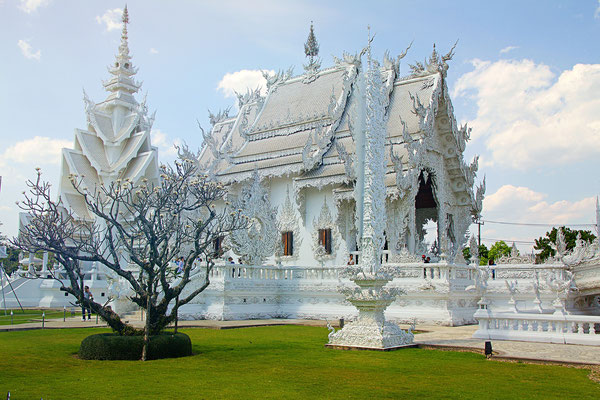 The white Temple - Wat Rong Khun