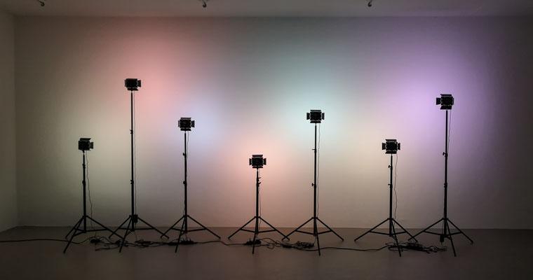 Installation Schein in der Städtische Galerie Nordhorn