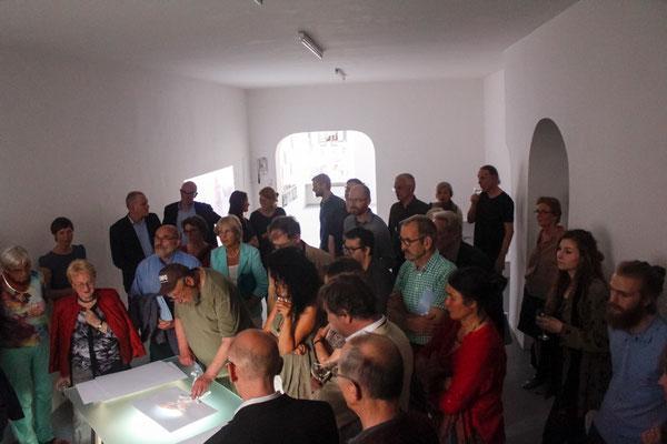 Augsburg 2017 | Neue Galerie Höhmannhaus | Ausstellungseröffnung ORTEN