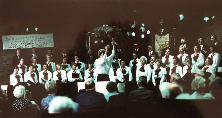 1986, 90 Jahre Groß Nordender Liedertafel
