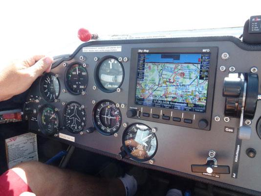 Cockpit Motorsegler MN