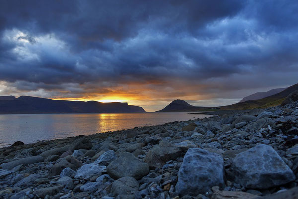 Westfjorde Island