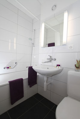 Badezimmer Einzelapartment
