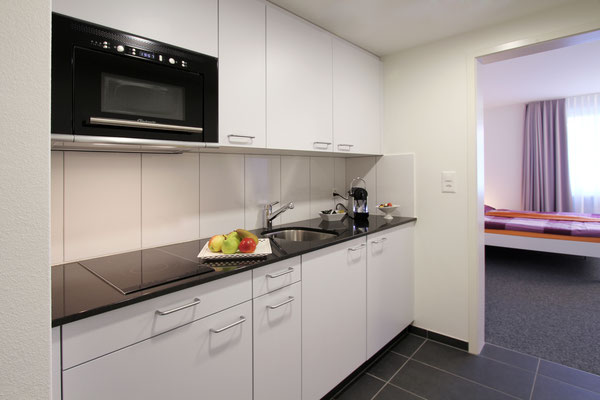 Küche Doppel-Apartment