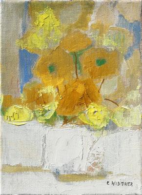 Bouquet jaune 1F 22x16cm