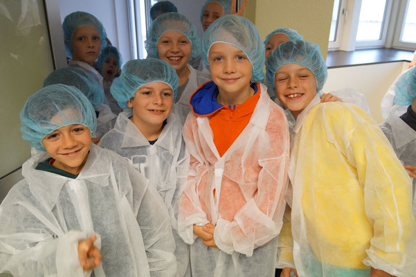 Besuch einer Nudelfabrik auf der Alb