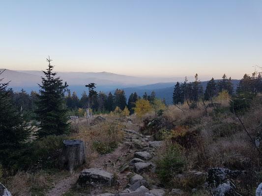Wanderung am Großen Arber im Bayrischen Wald