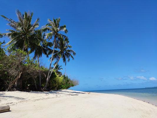 Strand auf Selingan Island, Sabah, Malaysia