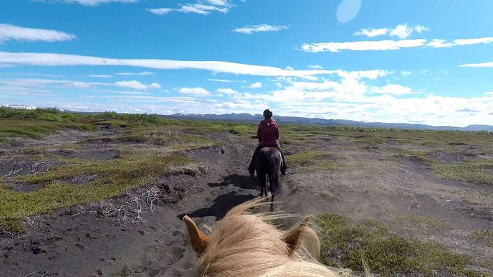 Unterwegs mit Lava Horse