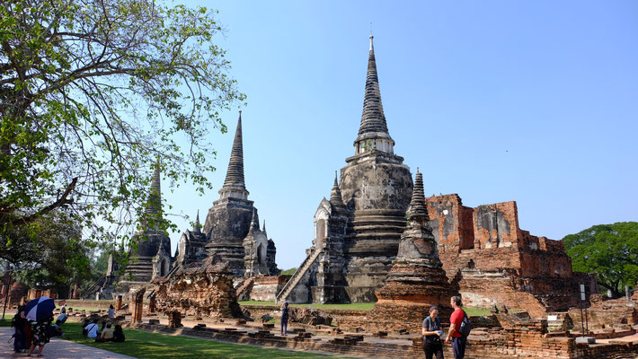 Stupas in Ayutthaya