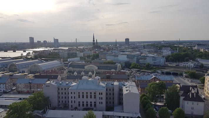 Aussicht auf Riga, Lettland