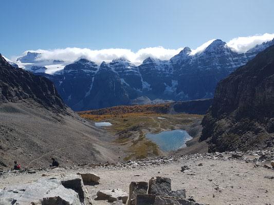 Blick vom Sentinel Pass