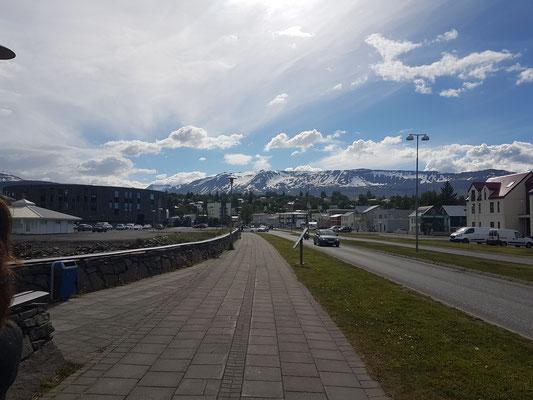 Spaziergang in Akureyri