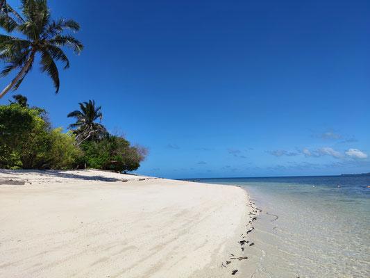 Traumstrand auf Selingan Island, Turtle Islands, Sabah, Borneo, Malaysia