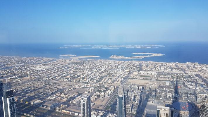 Aussicht vom BUrj Khalifa