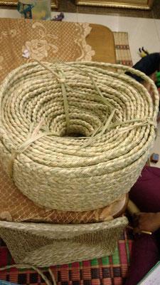 三つ編みロープ