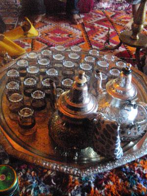Plateau de thé, Maroc