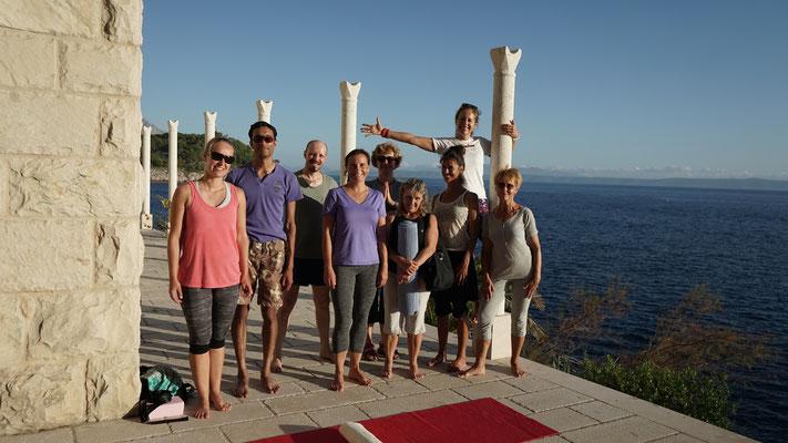 Stressbewältigung, Yoga Makarska, Kroatien