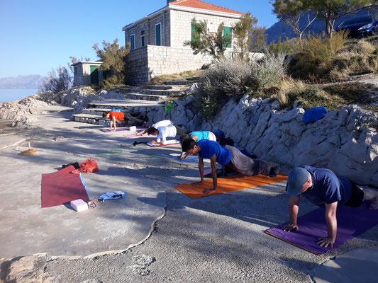 Yoga und Meditation Makarska Kroatien