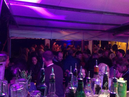 Nachtmarkt in Herrsching mit unseren Cocktails (2015)