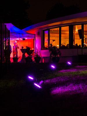 Privatfeier zum 60. Geburtstag: Cocktails, Beleuchtung und Zelte (2014)