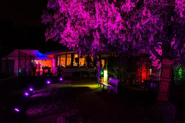 Sommerfest TSV Gräfelfing: Cocktails, Beleuchtung und Zelte (2015)