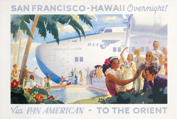via Pan American - To the Orient