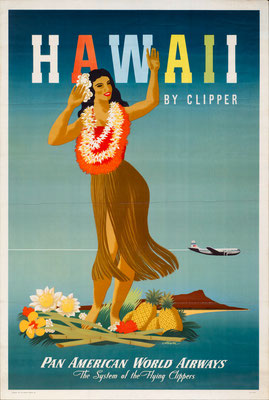 Pan American World Airways - Hawaii by Clipper - John Atherton - 1948