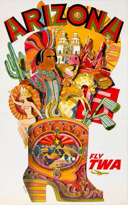 TWA - Arizona - David Klein - 1960s