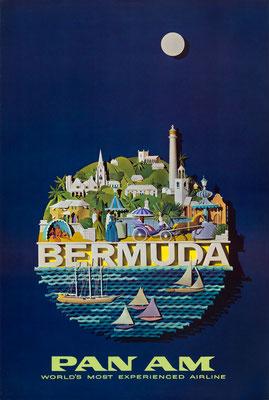 Pan Am - Bermuda - Raymond Ameijide - 1960s