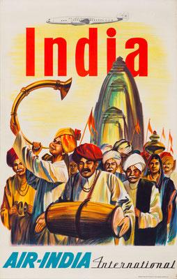 Air-India - India - 1950s