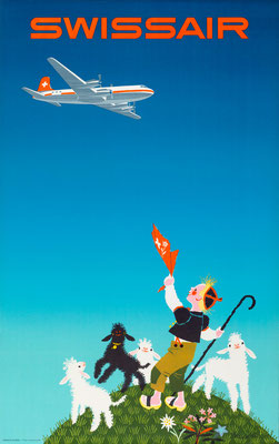 Swissair - Donald Brun -1954