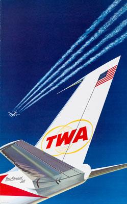 TWA - Star Stream Jet - 1960s