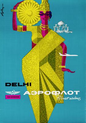 Aeroflot - Delhi