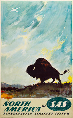 SAS - North America - Otto Nielsen - 1950s