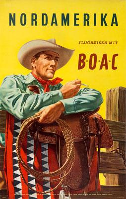 BOAC - Nordamerika - Hayes - 1958