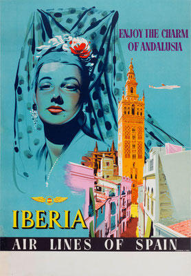 Iberia - Enjoy the charm of Andalusia - 1955