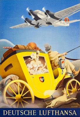 Deutsche Lufthansa - Max Ullmann - 1937