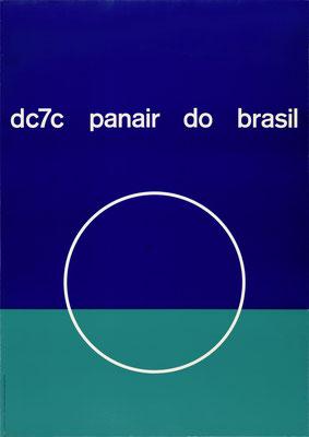 Panair do Brasil - dc7c - Mary Vieira - 1957