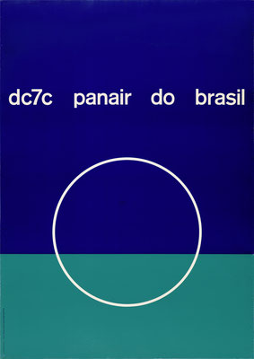 Panair do Brasil - dc7c - Mary Vieira - 1957 - 90 x 128 cm (Weltformat)