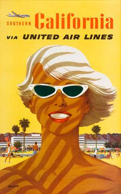 Stan Galli - UAL - Southern California - Vintage Modernism Poster